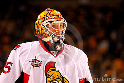 Alex Auld Ottawa Senators Editorial Photography