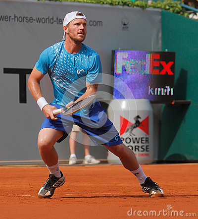Alex Bogomolov of Russia, Tennis  2012 Editorial Stock Image