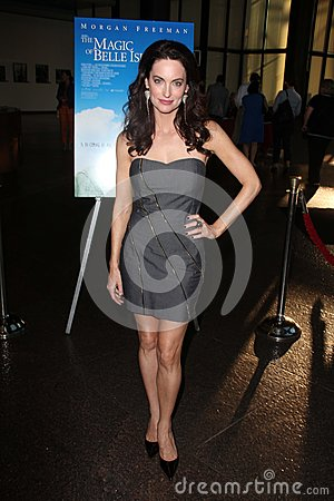 Alex Lombard at the Los Angeles Premiere of  Editorial Image