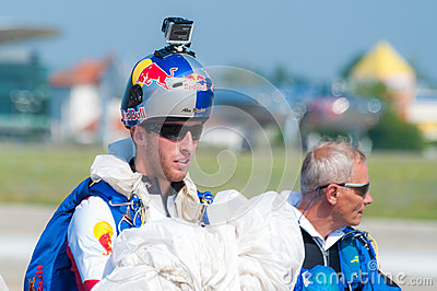 Alex Nicolau - RedBull Skydiver Editorial Photography