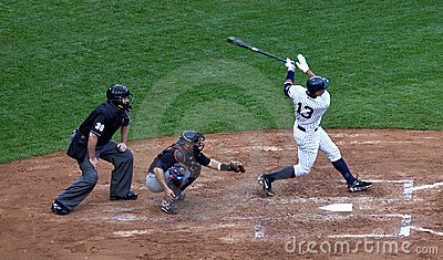 Alex Rodriguez s 562nd Home Run Editorial Photography