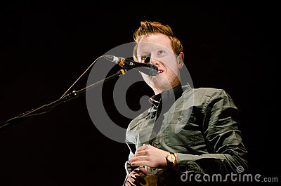 Alex Trimble, clube do cinema de duas portas Foto de Stock Editorial