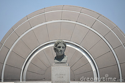 Alexander the Great at the Library of Alexandria