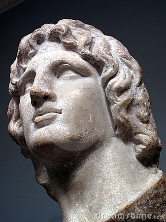 Free Alexander The Great Statue Royalty Free Stock Photography - 11297177