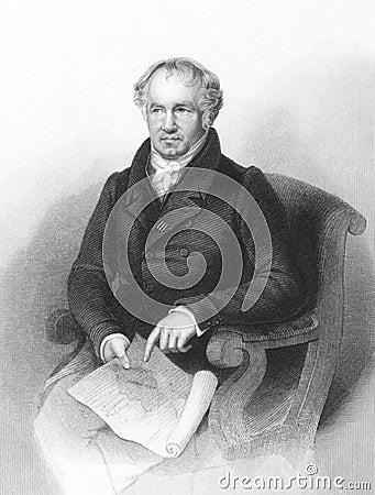 Alexander von Humboldt Editorial Image