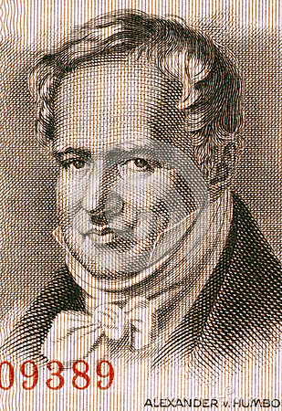Alexander von Humboldt Editorial Photo