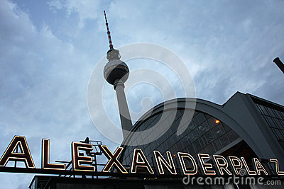 Alexanderplatz Editorial Stock Image