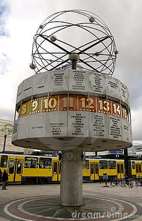 Alexanderplatz clock