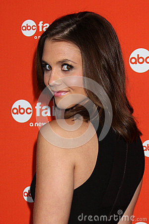 Alexandra Chando arrives at the ABC Family West Coast Upfronts Editorial Photo