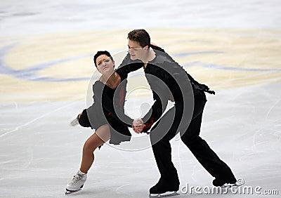 Alexandra Zaretski and Roman Zaretski (ISR) Editorial Stock Image