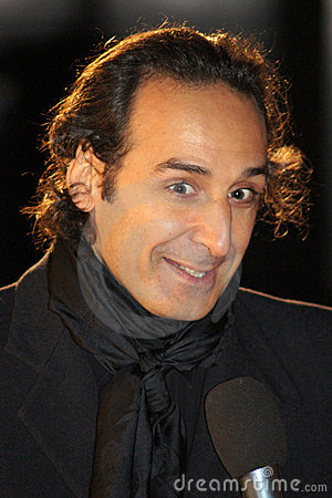 Alexandre Desplat At The King s Speech Editorial Stock Photo