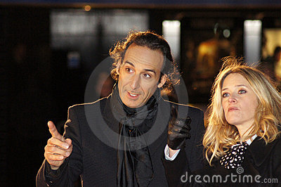 Alexandre Desplat At The King s Speech Editorial Stock Image