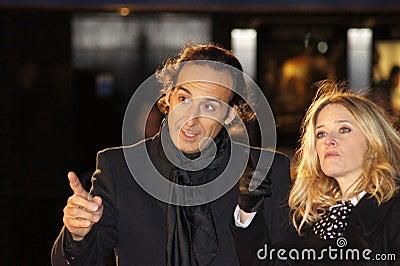 Alexandre Desplat At The King s Speech Editorial Stock Image