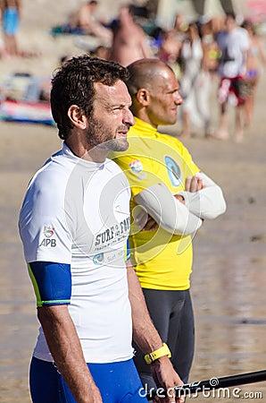 Alexandre Tavares and Rui Horta Editorial Stock Photo