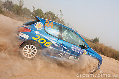 Alexandrov Rally Editorial Stock Image