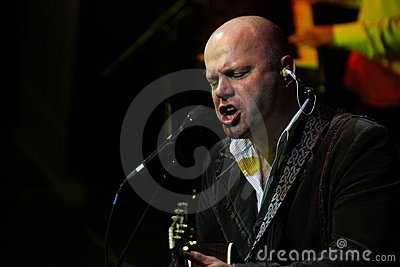 Alexey Cortnev, expressive portrait Editorial Image