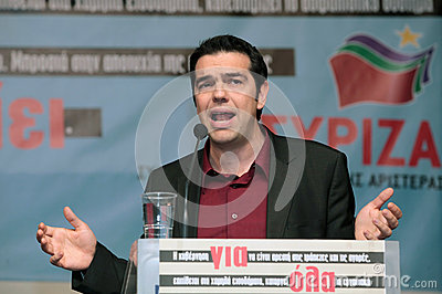 Alexis Tsipras Editorial Photo