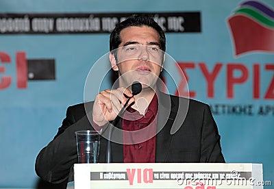 Alexis Tsipras Editorial Image