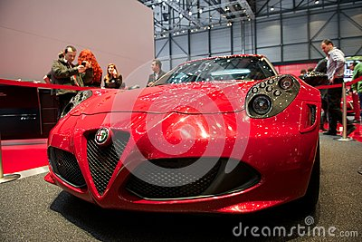 Alfa Romeo 4C Launch edition 2014 Editorial Image