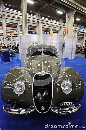 Alfa Romeo 6 C 2500 Sport 1939 Editorial Photo