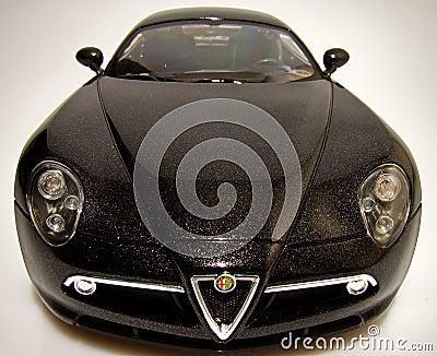 Alfa Romeo 8c competizione Editorial Stock Image