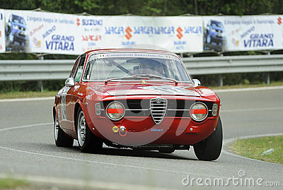 Alfa Romeo Giulia Sprint Editorial Photo