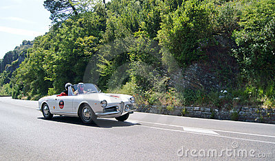 Alfa Romeo Giulietta Spider Editorial Stock Photo
