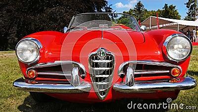 Alfa Romeo Giulietta, Vintage Iconic Cars