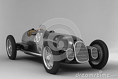 Alfa Romeo old - black