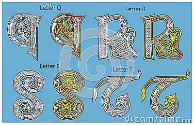 Alfabeto celtico antico