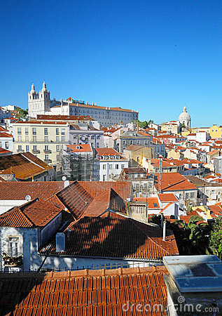 Alfama District of Lisbon