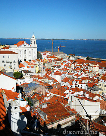 Free Alfama Lisbon Royalty Free Stock Photography - 9652497