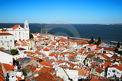 Alfama quarter Lisbon