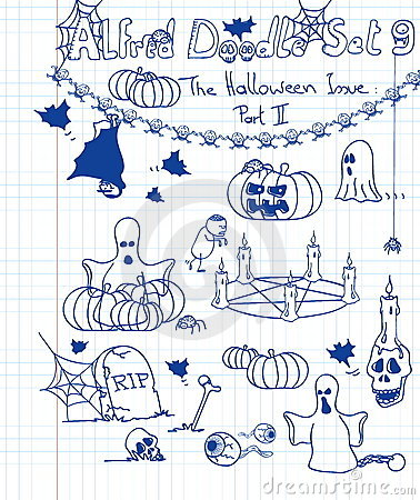 Alfred Doodle Set 9