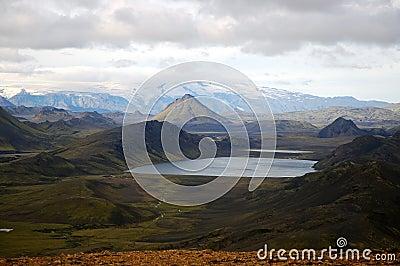 Alftavatn lake, Iceland.