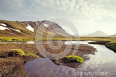 Alftavatn lake, Iceland