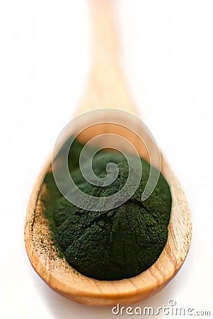 Free Algae Powder Spirulina Stock Images - 29277664