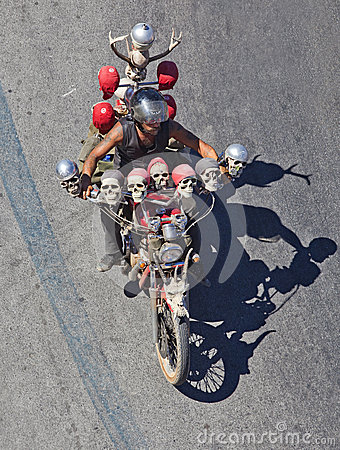 Algarve International Motorcicle Rally Editorial Photo