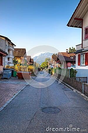 Algemene Europese straat