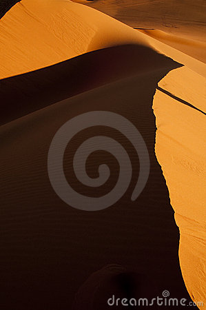 Algeria Sahara dune landscape light game