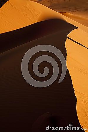 Algeria Sahara dune landscape light game