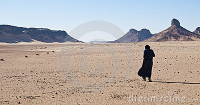 Algeria Sahara tuareg