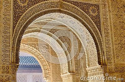 Alhambra arches