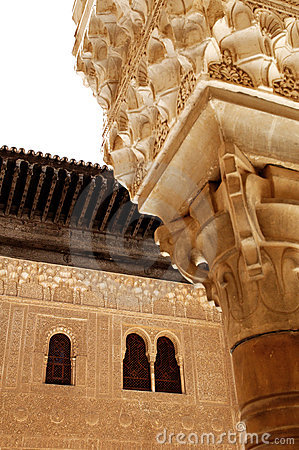 Alhambra architectural details