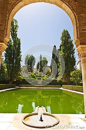Alhambra de Granada gardens