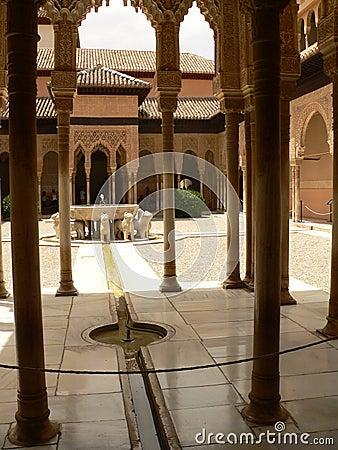 Alhambra Nazarie palace