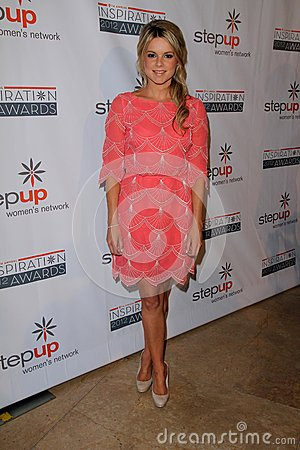 Ali Fedotowsky at the Step Up Women Network 9th Annual Inspiration Awards, Beverly Hilton Hotel, Beverly Hills, CA 06-08-12 Editorial Photo