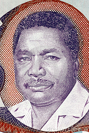 Ali Hassan Mwinyi Editorial Stock Image