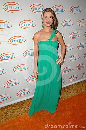 Ali Hills at the  10th Annual Lupus LA Orange Ball, Beverly Wilshire Hotel, Beverly Hills, CA. 05-06-10 Editorial Photography