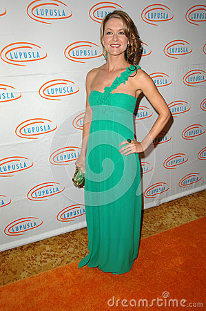 Ali Hills at the  10th Annual Lupus LA Orange Ball, Beverly Wilshire Hotel, Beverly Hills, CA. 05-06-10 Editorial Image